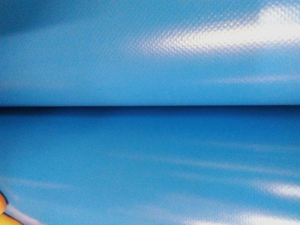 пвх ткань голубая фото